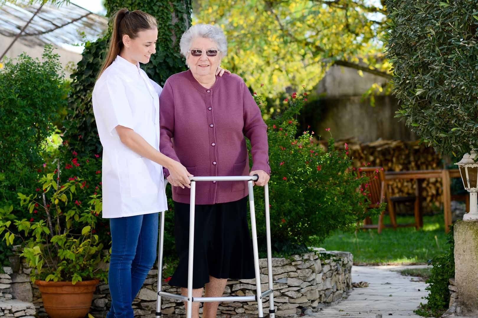 how to become a carer for the elderly uk