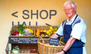 Plunkett shop image with fresh veg